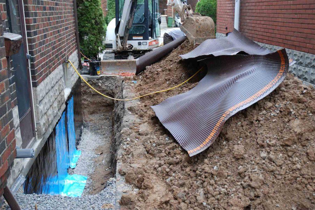 Exterior Waterproofing Basement Specialist